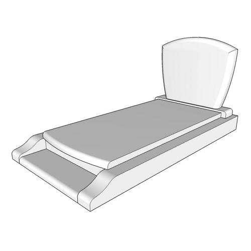 pierre tombale lipari e. Black Bedroom Furniture Sets. Home Design Ideas