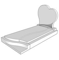 pierre tombale diadem e. Black Bedroom Furniture Sets. Home Design Ideas