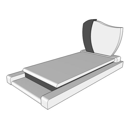 pierre tombale elhena e. Black Bedroom Furniture Sets. Home Design Ideas